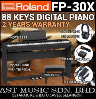 ROLAND FP30X BLACK FULL