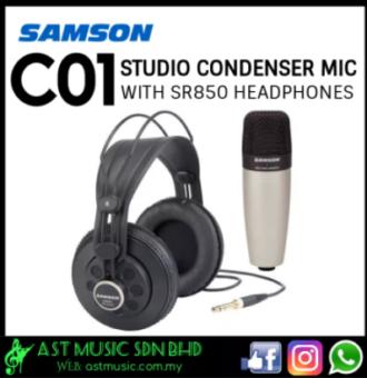 c01 with headphone